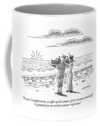 To You, O Mighty Ocean, We Offer Up The Remains Coffee Mug