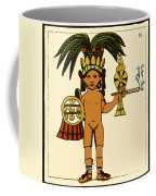 Tobacco In Aztec Ritual, Florentine Coffee Mug by Science Source