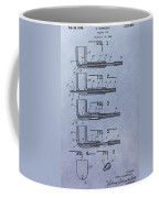 Tobacco Pipe Patent Coffee Mug
