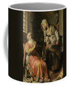 Tobit And Anna With The Kid Coffee Mug