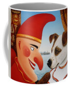 Toby And Punch, 1994 Oils And Tempera On Panel Coffee Mug