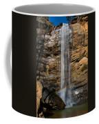 Toccoa Falls With Rainbow Coffee Mug