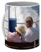 Together In Greece Coffee Mug