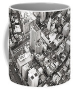 Tokyo City Black And White Coffee Mug