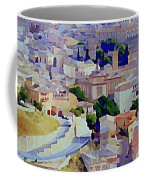 Toledo Spain In Blue Coffee Mug