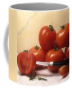 Tomatoes And A Knife Coffee Mug