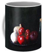 Tomatoes And Onions Coffee Mug by Anastasiya Malakhova