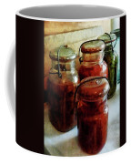 Tomatoes And String Beans In Canning Jars Coffee Mug