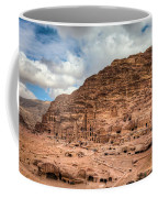 Tombs Of Petra Coffee Mug