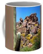 Tonto Saguaro Rocks 10189 Coffee Mug