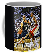 Tony Parker Painting Coffee Mug