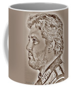 Tony Stewart In 2011 Coffee Mug by J McCombie
