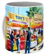 Tonys Concessions Potato Garlic Soup Bread Bowl Coffee Mug