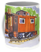 Toot Toot Coffee Mug by Kip DeVore