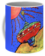 Top In Space Coffee Mug by Dale Moses