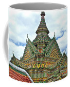 Top Of Temple In Wat Po In Bangkok-thailand Coffee Mug