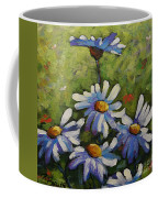Top Of The Bunch Daisies By Prankearts Coffee Mug