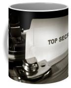 Top Secret Document In Armored Briefcase Coffee Mug