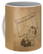 Top Ten Reasons People Procrastinate Pun Humor Motivational Poster Coffee Mug