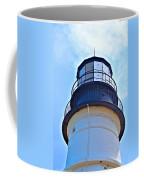 Top View Of Portland Head Light Coffee Mug