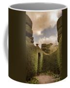 Topiary Maze In A Formal Garden Coffee Mug