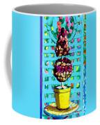 Topiary Of Dried Roses Coffee Mug