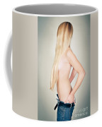 Topless Beauty Coffee Mug