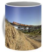 Topock Bridge Freight Coffee Mug