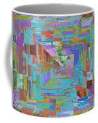 Topographic Albatross Coffee Mug