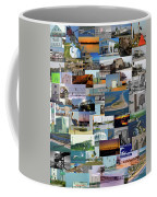 Topsail Island Nc Collage  Coffee Mug