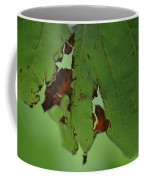 Torn Leaf Abstract Coffee Mug