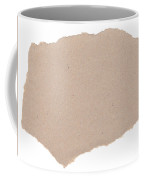 Torn Paper Coffee Mug