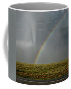 Tornado And The Rainbow Coffee Mug