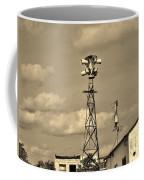 Tornado Siren In A Ghost Town Coffee Mug
