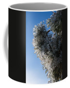 Toronto Ice Storm 2013 - Pine Needle Flowers In The Sky Coffee Mug