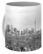 Toronto In Black And White Coffee Mug