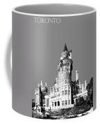 Toronto Skyline Casa Loma - Pewter Coffee Mug