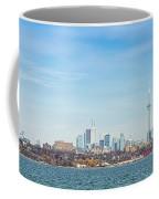 Toronto Skylines At The Waterfront Coffee Mug