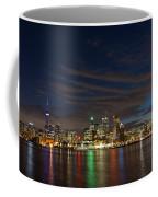 Toronto's Dazzling Skyline  Coffee Mug