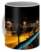 Torquay Royal Terrace Gardens Steps At Night Coffee Mug