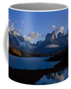 Torres Del Paine, Patagonia, Chile Coffee Mug