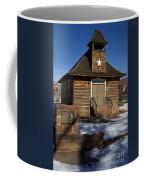 Torrey Log School And Church Utah Coffee Mug