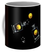 Toss Me A Lemon Coffee Mug by Diana Angstadt