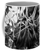 Total Eclipse Of The Sunflower - Bw Coffee Mug