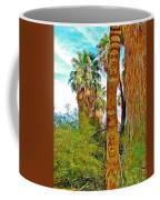 Totem Pole In Coachella Valley Preserve-california Coffee Mug