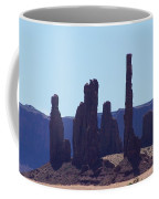 Totem Pole In Monument Valley Coffee Mug