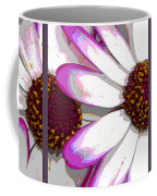 Touch Of Pink Osteospermum Trio Sample Coffee Mug
