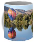 Touchdown On The Yakima River Coffee Mug