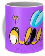 Thoughts And Colors Series Bee Coffee Mug