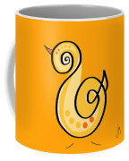 Thoughts And Colors Series Chick Coffee Mug